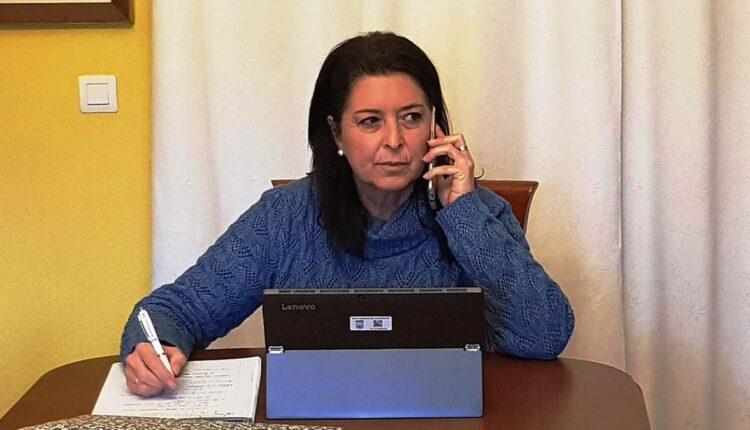 La edil de Servicios Sociales, María del Carmen Reinoso.