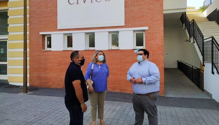 Visita al Centro Cívico en La Herradura.