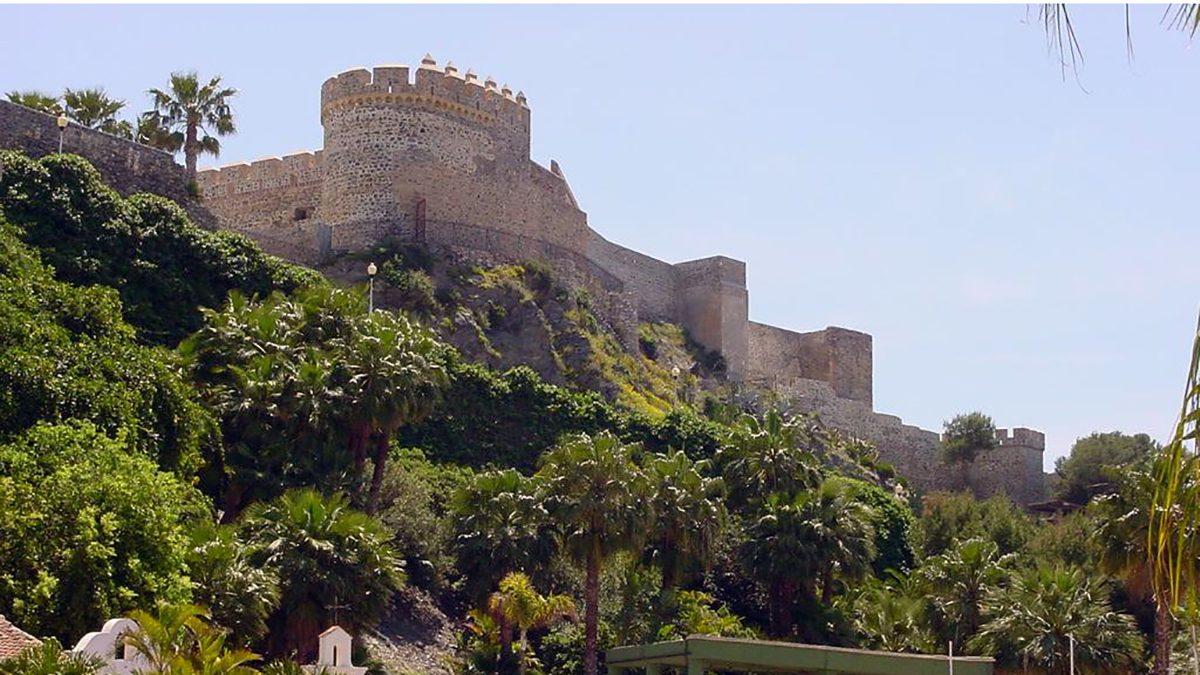 Zona oeste del Castillo de San Miguel