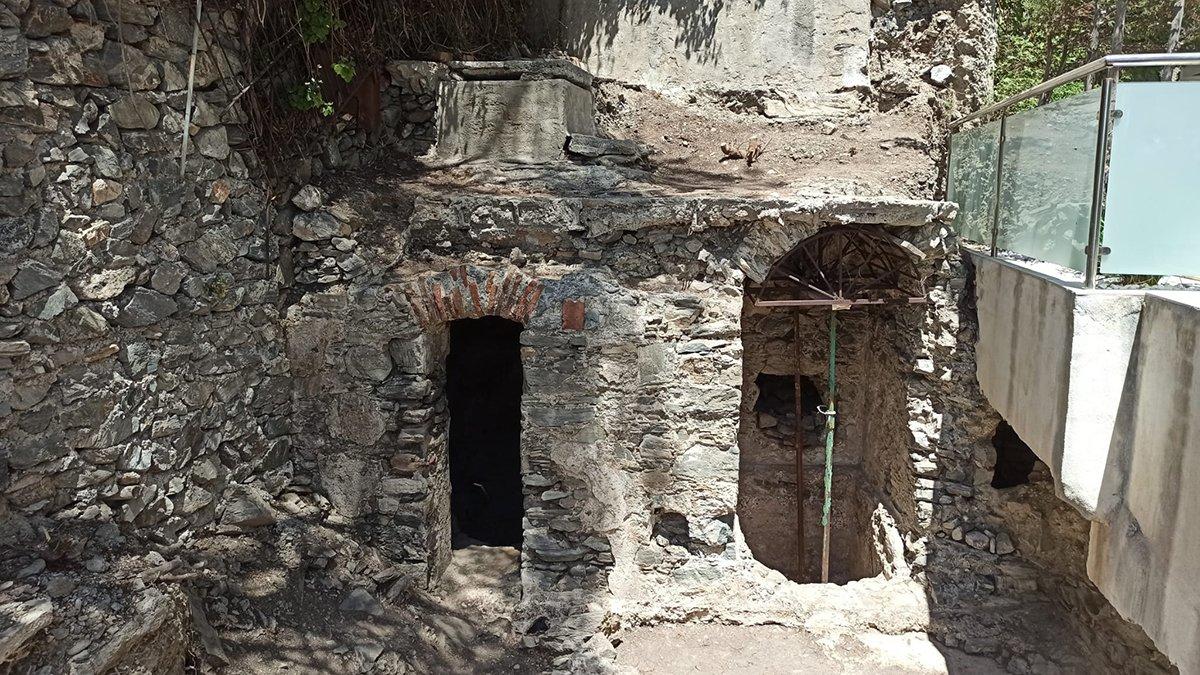 Restos arqueológicos en Cotobro